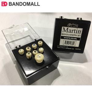 마틴 브릿지 엔드핀 세트 Martin Bridge&end pin set White/Pearl